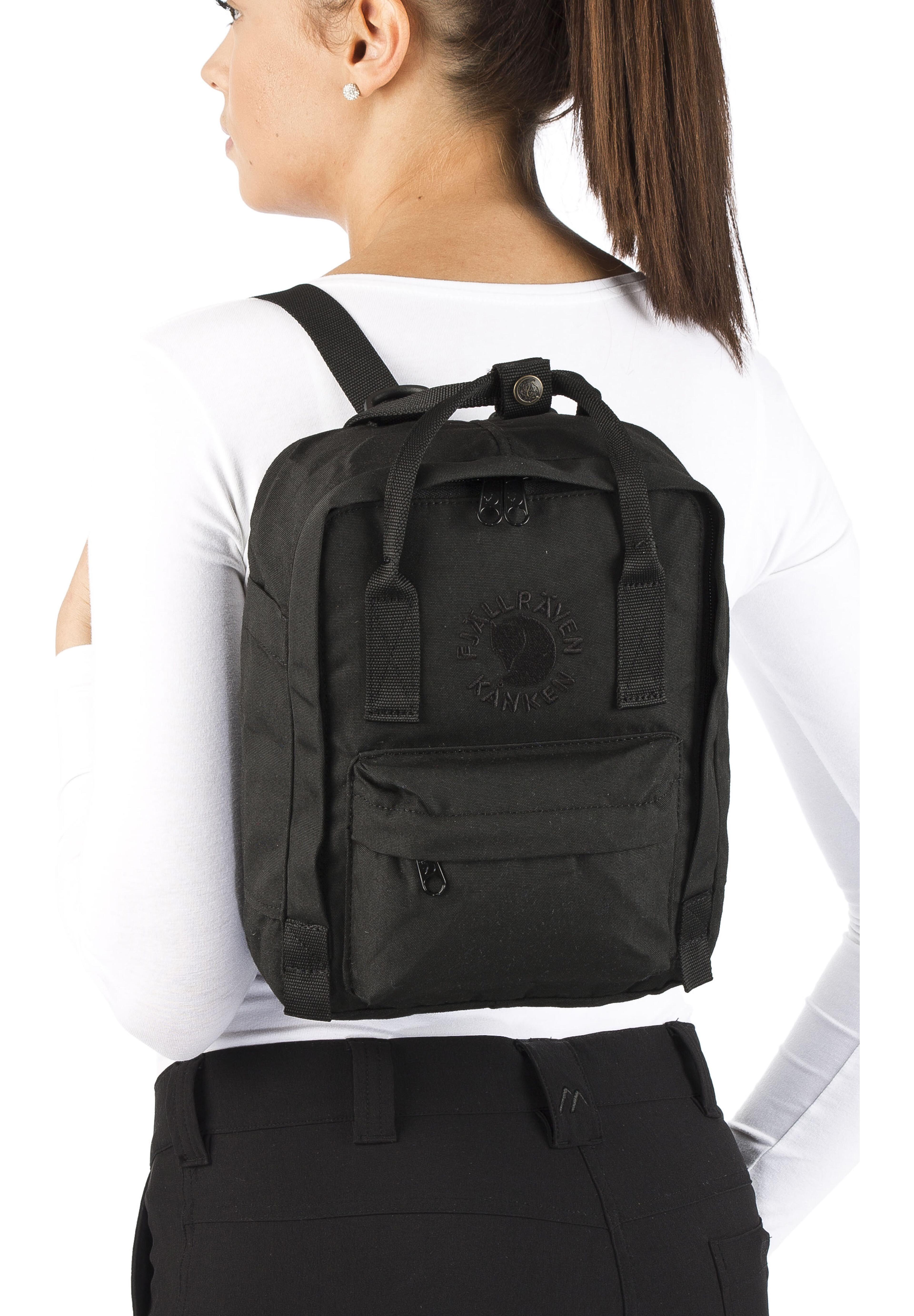 a75f7d60a38a Fjällräven Re-Kånken Mini Backpack black at Addnature.co.uk